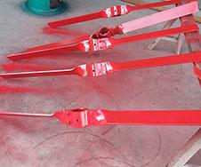 碳钢分拆桨式搅拌器