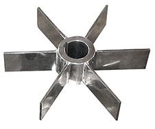 不锈钢开启涡轮式搅拌器