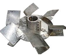 不锈钢圆盘涡轮式搅拌器